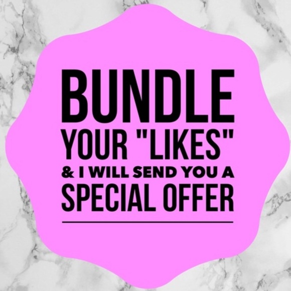 Other - Bundle your Likes for private offer!